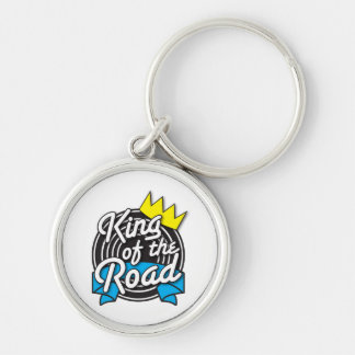 KING of the Road Keychain