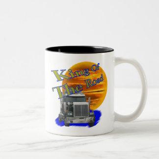 KIng Of The Road Two-Tone Coffee Mug