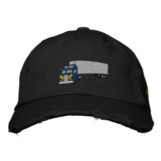 King of the Road with personalized name Embroidered Baseball Cap
