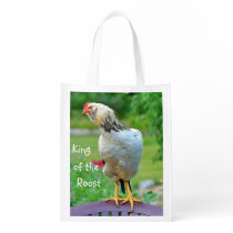 King Of The Roost Shopping Bag