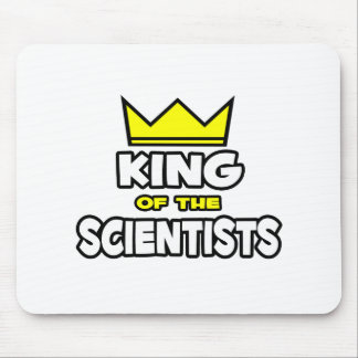 King of the Scientists Mousepads