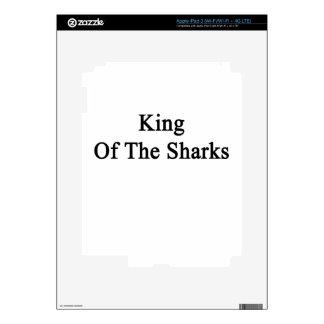 King Of The Sharks iPad 3 Skin