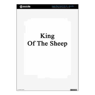 King Of The Sheep iPad 3 Decal