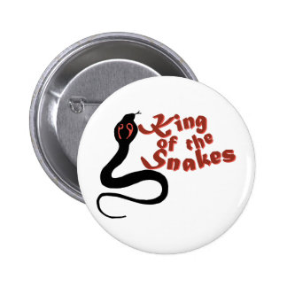 King Of The Snakes 2 Inch Round Button