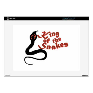 "King Of The Snakes 15"" Laptop Skin"