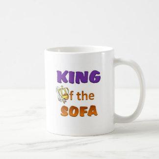 King of the sofa coffee mug
