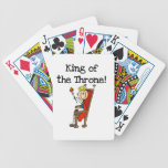King of the Throne Poker Cards