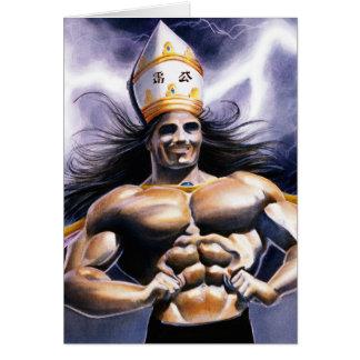King of the Thunder Pagoda Card
