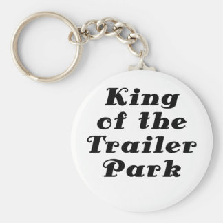 King of the Trailer Park Key Chains