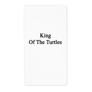 King Of The Turtles Label