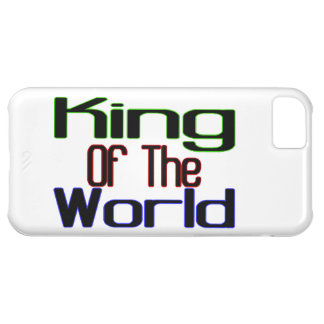 King Of The World iPhone 5C Case