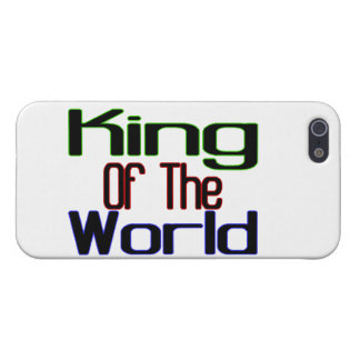 King Of The World iPhone SE/5/5s Cover
