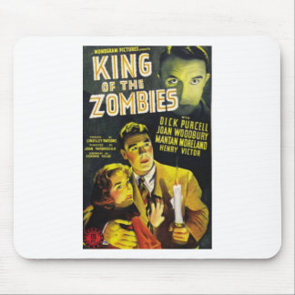 King of the Zombies Mouse Pad