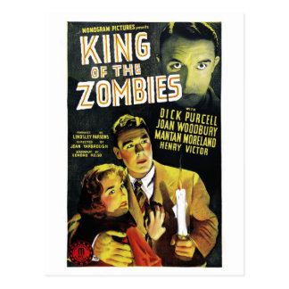 King of the Zombies Postcard