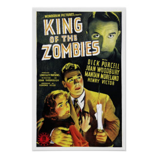 King of the Zombies Poster