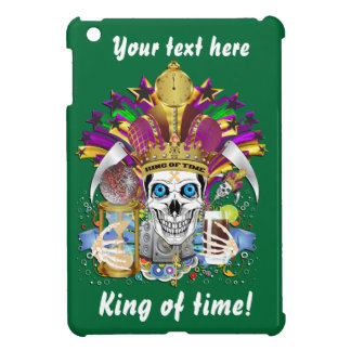 King of Time Mardi Gras View Hints Please Case For The iPad Mini