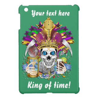 King of Time Mardi Gras View Hints Please iPad Mini Cover