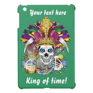 King of Time Mardi Gras View Hints Please iPad Mini Cover