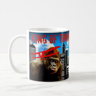 King of Town - Gorilla Coffee Mug