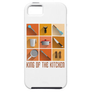 king of utilities the kitchen cook chief iPhone 5 carcasa