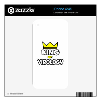 King of Virology iPhone 4 Decals