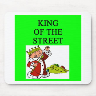 king of wall street mouse pad
