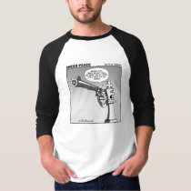 King on the edge cartoon T-Shirt