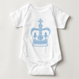 King or Queen Crown Baby Bodysuit
