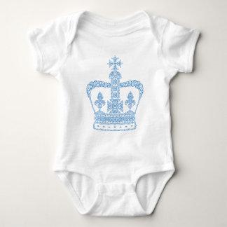King or Queen Crown Baby Bodysuit