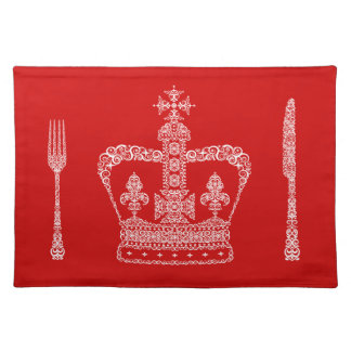 King or Queen Crown Cloth Placemat