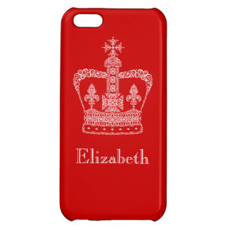 King or Queen Crown iPhone 5C Cover