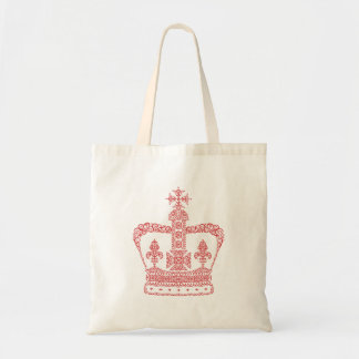 King or Queen Crown Tote Bag