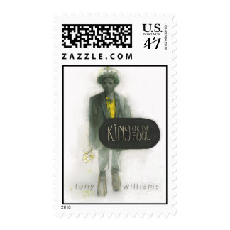 King or The Fool (Postage) - Customized Postage Stamp