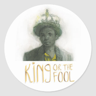 King Or The Fool Sticker