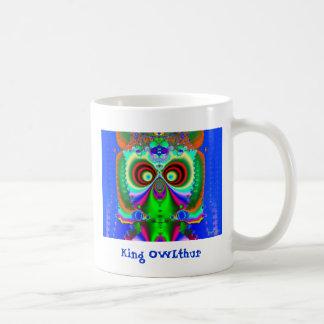 King OWLthur Coffee Mug