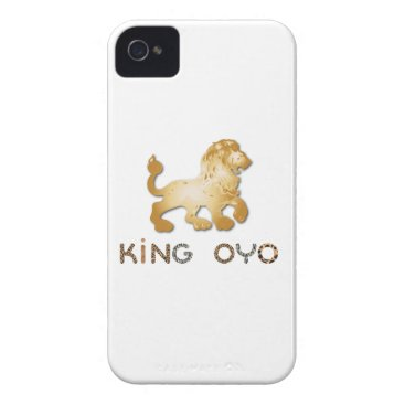 King Oyo iPhone 4 Barely There Universal Case