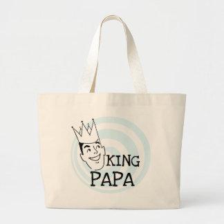 King Papa T-shirts and Gifts Jumbo Tote Bag