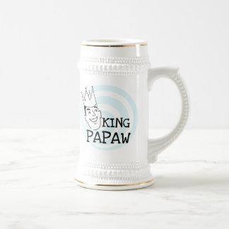 King Papaw T-shirts and Gifts 18 Oz Beer Stein