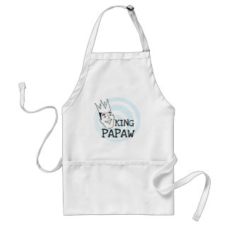 King Papaw T-shirts and Gifts Adult Apron