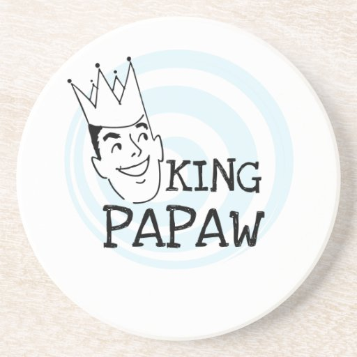 King Papaw T-shirts and Gifts Beverage Coasters