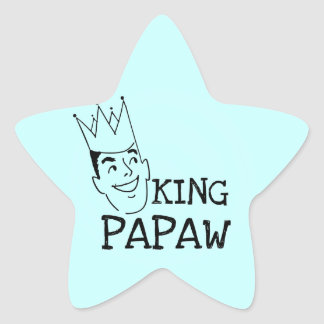 King Papaw T-shirts and Gifts Star Sticker