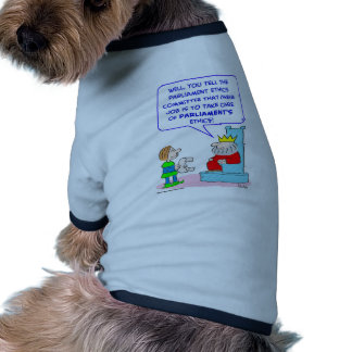 king parliament ethics committee pet tee
