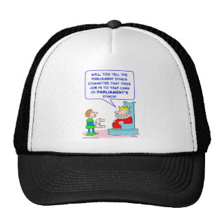 king parliament ethics committee trucker hats