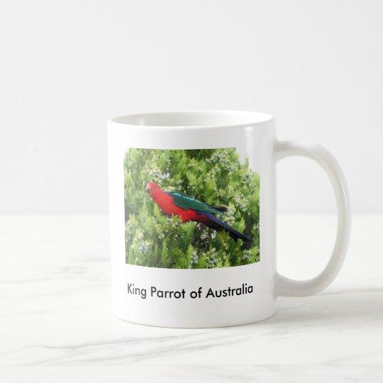 King parrot coffee mug