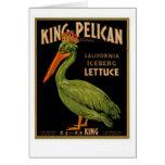 King Pelican Brand Lettuce Card