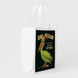 King Pelican Iceberg Lettuce Grocery Bag