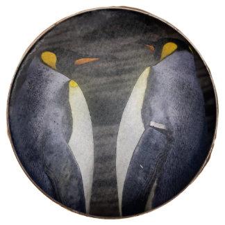 King Penguin, Animal Photography Chocolate Covered Oreo