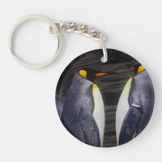 King Penguin, Animal Photography Keychain
