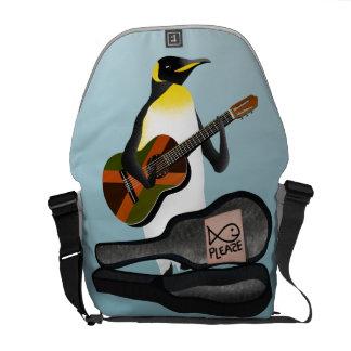 King Penguin Busking Courier Bag