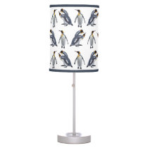 King Penguin Frenzy Lamp (Choose Your Colour)
